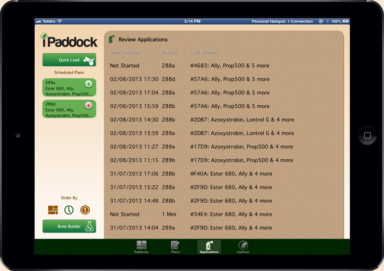 iPaddockSpray Slide 1